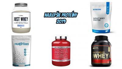 najlepšie proteiny