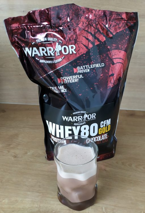 protein Whey WPC80 CFM Gold od Warrior
