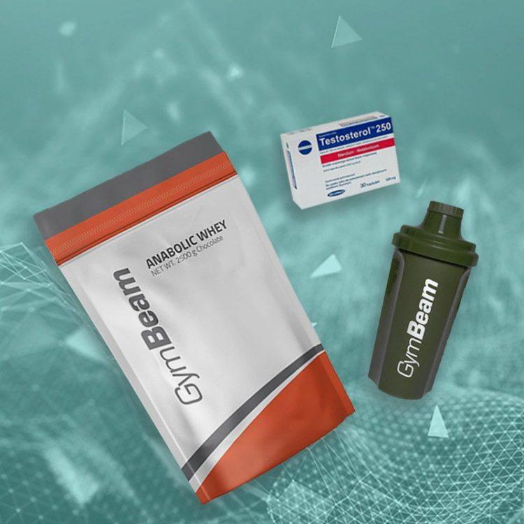 Fitness doplnky - proteín